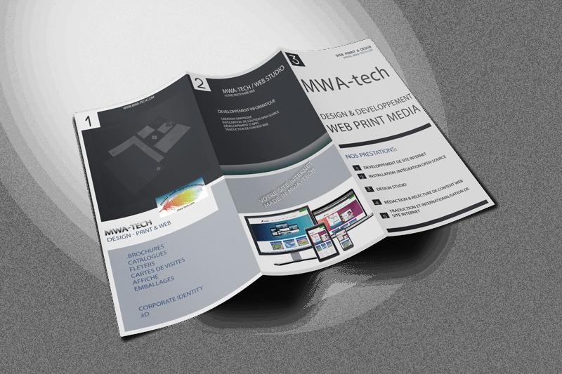 mwa-tech,studio de print-design. Votre partenaire pour toute votre communication d'entreprise